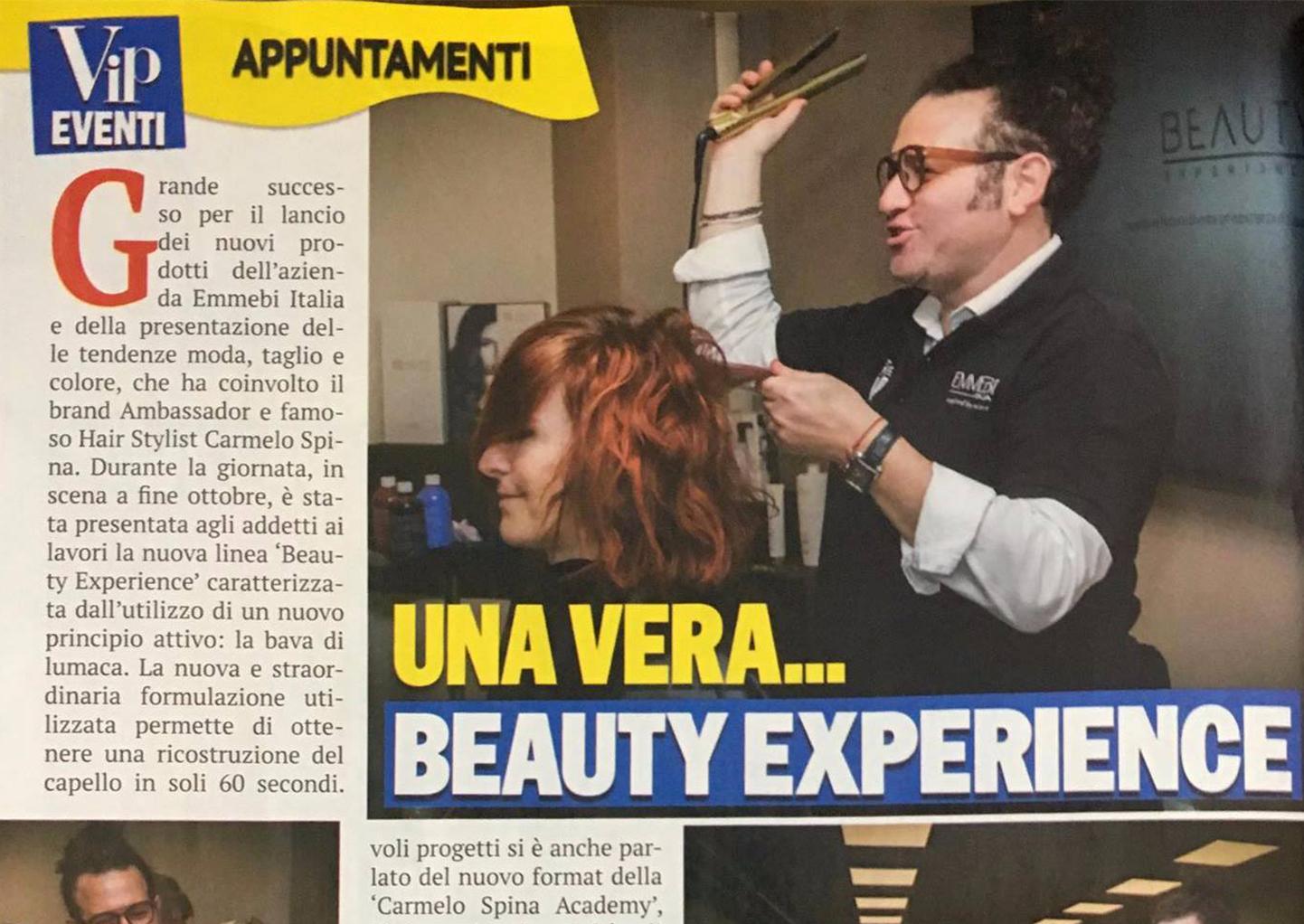 beauty experience