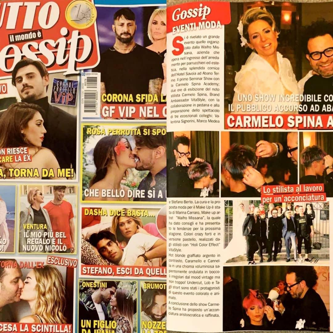 tutto il mondo è gossip Il grande successo del seminar show con la Carmelo Spina Academy